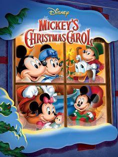 Cuento de Navidad de Mickey.  PELIS DE NAVIDAD