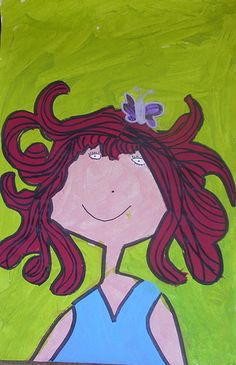 Red Wig: Children's Artwork Created at ARt YOwZA Camp