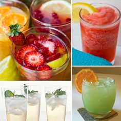 Healthy Mocktail Recipies.