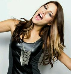 Casadee Pope, my next hair inspiration!! thinking of getting these streaks in