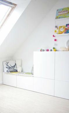 meuble besta chambre enfant idée rangement coussins étagères design tiroirs