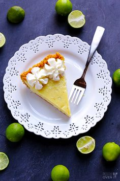 Best Key Lime Pie Recipe | one of Marc's favs. Gonna have to try