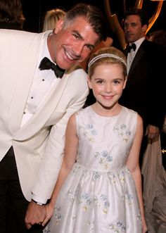 Mad Men stars, Bryan Batt and Kiernan Shipka. He reminds me so much of Colm I could just die.
