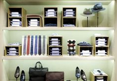 The Best Menswear Stores of 2013: Style: GQ Lanvin store N.Y.C.