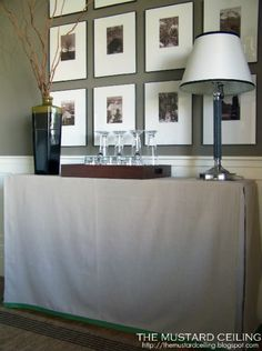 Skirted Table Tutorial