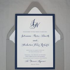 Hey, I found this really awesome Etsy listing at https://www.etsy.com/listing/168742151/wedding-invitation-jackson-design