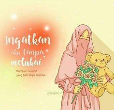 No photo description available. Cartoon Girl Images, Cute Cartoon Pictures, Cartoon Quotes, Cartoon Pics, Girl Cartoon, Cinta Quotes, Islamic Cartoon, Hijab Cartoon, Cute Birds