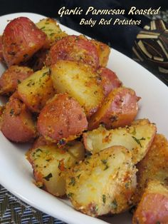 Garlic Parmesan Roasted Baby Red Potatoes
