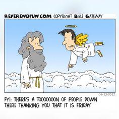 Thank God It's Friday!  #TGIF