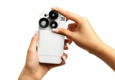 Izzi Slim iPhone lens case: Includes three lenses right on the case for more fun with your iPhone pictures.