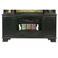 Eagle Furniture Manufacturing American Premiere TV Stand Door Type: Wood, Finish: Cupola Yellow