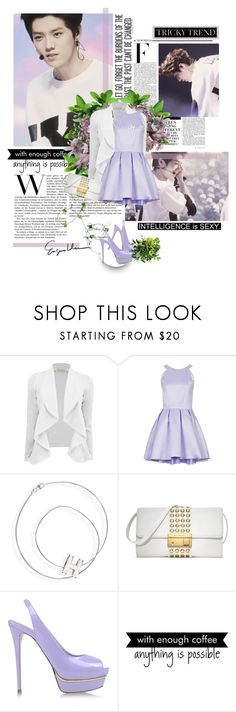 """Skinny Love"" by seoulmate00 ❤ liked on Polyvore featuring Topshop, Hermès, Michael Kors, Le Silla, Nicki Minaj, WALL, kpop, EXO, exom and luhan"