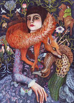#kalina pilat - fox 2 - 2010 #australianart