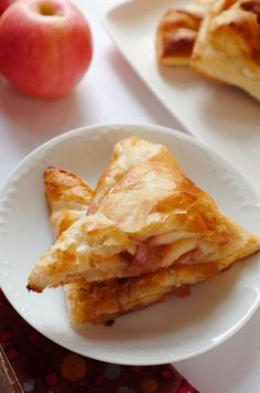 Five-ingredient apple turnovers!