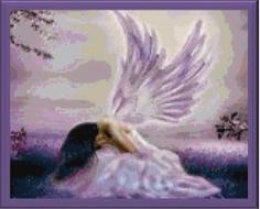 Prayer of an Angel cross stitch pattern