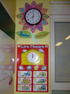 L'horloge de la classe - sanleane