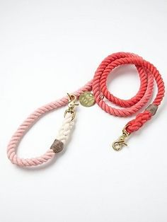 This ombre rope leash. | 26 Adorable Products Every Dog Owner Needs