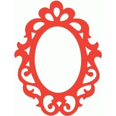 Silhouette Design Store - Search Designs : ORNATE FRAME