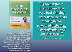 The Powers of hydration, detoxification and anti-oxidation.  dotk@live.com
