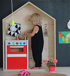 Definitely making one of these when I have kids!  Let's Play House | Handmade Charlotte