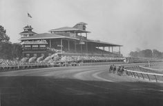 Racing at Delaware Park  See the entire collection at http://www.facebook.com/DelawarePublicArchives