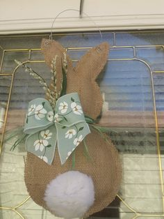 Bunny Crafts, Easter Crafts, Felt Crafts, Spring Crafts, Holiday Crafts, Easy Crafts To Make, Diy Easter Decorations, Craft Show Ideas, Easter Wreaths