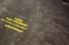 Greenpeace Irreparably Damage Ancient Nazca Lines   IFLScience