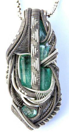 ©Ben Orron #wirewrap #jewelry #wirewrapjewelry