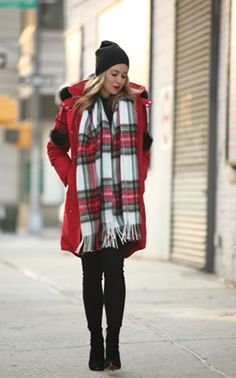 Brooklyn Blonde wearing our stirling parka http://www.mooseknuckles.us/ #MooseKnuckles #lifestyle #style #fashion #balckfriday #jacket #parka #coat #outwear #winterwarm