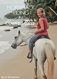 Riding along the beaches of Puerto Viejo, Costa Rica with Playa Chiquita Riding Adventures was one of my best horseback riding experiences yet. | Alex in Wanderland