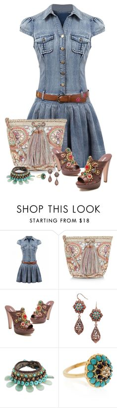 """""""Gems"""" by montse-gallardo ❤ liked on Polyvore featuring Monsoon, Miu Miu, NOVICA and Accessorize"""