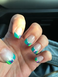 Nails by Jessica Anderson, Karma Salon, Ashland, WI.
