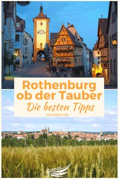 European Destination, European Travel, Rothenburg Ob Der Tauber, Reisen In Europa, Travel Aesthetic, Places Ive Been, Diy And Crafts, Germany, Around The Worlds