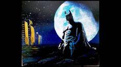 Batman spray paint art