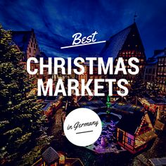 Best Christmas Markets in Germany - A must for any bucket list is to visit European Christmas markets. Christmas Markets Germany, German Christmas Markets, Christmas Markets Europe, Christmas Travel, Christmas 2019, Xmas, Vacation Destinations, Dream Vacations, I Want To Travel