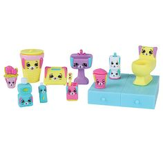 Shopkins Happy Places Decorator Pack - Bathing Bunny - The Entertainer - The Entertainer