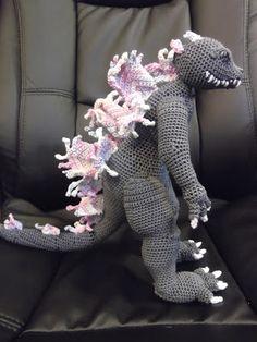 Godzilla 2000 crochet
