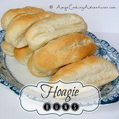 Amy's Cooking Adventures: Hoagie Buns