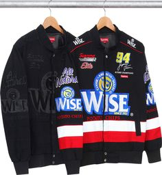Supreme x Wise Racing Jacket and Beanie