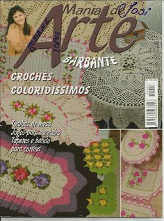 Josi Artesanatos: Revista Mania De Arte Barbante Nº03 (Bia Moreira)