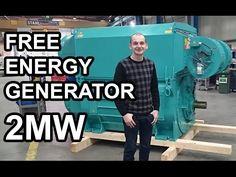Free Energy Generator 2MW - YouTube