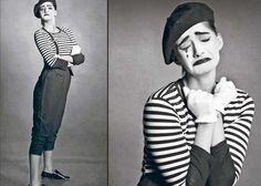 The sad clown: Sonam Kapoor's experimental photoshoot