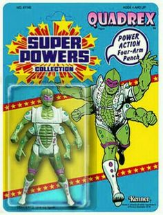 One of the best toys I ever played with as a child was the Super Powers from DC and Kenner. They even planned out a wave of toys and eve. Kenner Toys, Modern Toys, Custom Action Figures, Nightmare On Elm Street, Classic Toys, Old Toys, Comic Character, Justice League, Super Powers