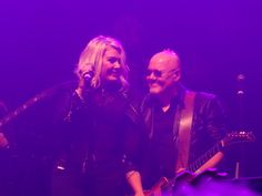 Kim and Ricky Wilde perform at the Kim Wilde Christmas Party live at the Coronet in London (18-12-15) Photo © Daniel Porter 2015.  All rights reserved. @MrDanielPorter www.MrDanielPorter.com #KimWilde #RickyWilde
