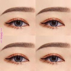 Makeup korean ulzzang make up trendy ideas - my most beautiful makeup list Korean Makeup Tips, Korean Makeup Look, Korean Makeup Tutorials, Asian Eye Makeup, Eyeshadow Tutorials, Makeup Trends, Makeup Inspo, Makeup Inspiration, Beauty Makeup