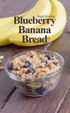 Single Serving Blueberry Banana Bread by Pancake Warriors
