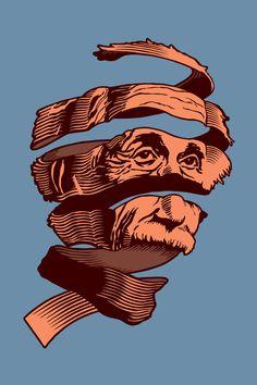 Escher's Einstein