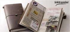 Los Legendarios Cuadernos de Viajero en piel