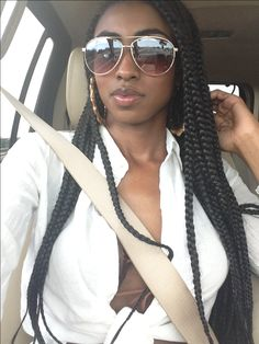 BRAIDS / BOX BRAIDS / PROTECTIVE HAIRSTYLE / POETIC JUSTIC BRAIDS / SYNTHETIC HAIRSTYLE
