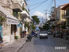 The mainstreet of Pythagorion, At the end you have a look at the sea.  Source: zoover.